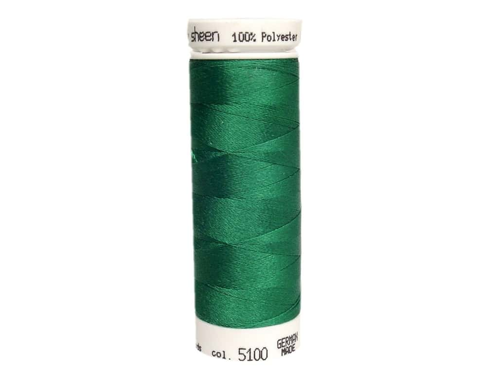 Mettler PolySheen Embroidery Thread 220 yd. #5100 Green