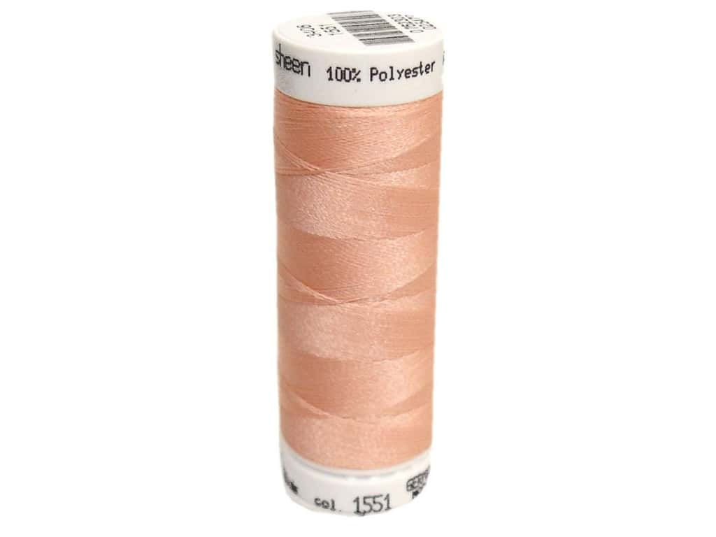 Mettler PolySheen Embroidery Thread 220 yd. #1551 Pink Clay