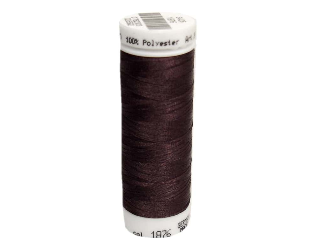 Mettler PolySheen Embroidery Thread 220 yd. #1876 Chocolate