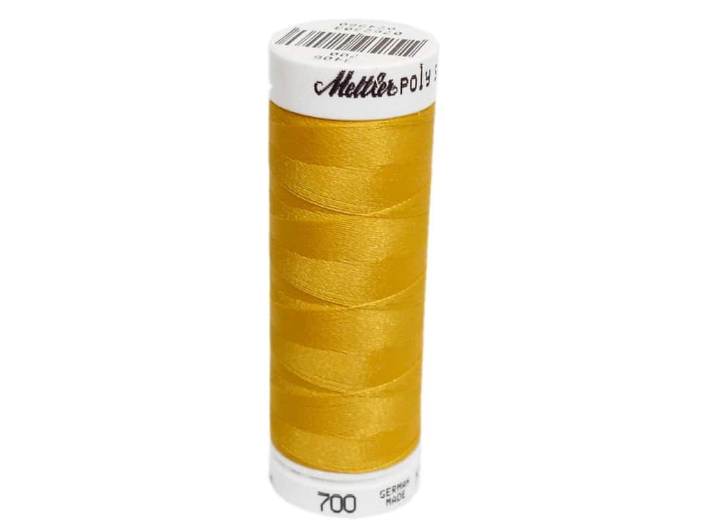 Mettler PolySheen Embroidery Thread 220 yd. #0700 Bright Yellow