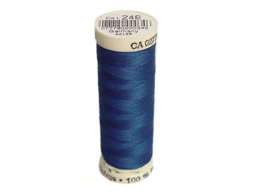 Gutermann Sew-All Thread 110 yd. #248 Electric Blue