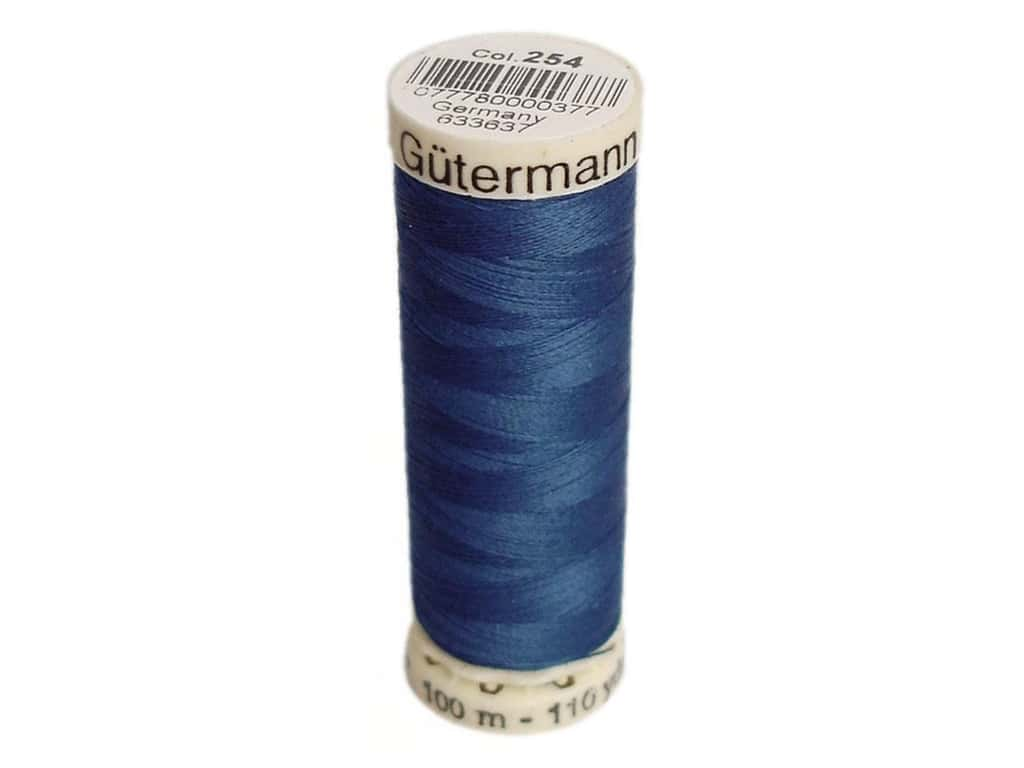 Gutermann Sew-All Thread 110 yd. #254 Brite Blue