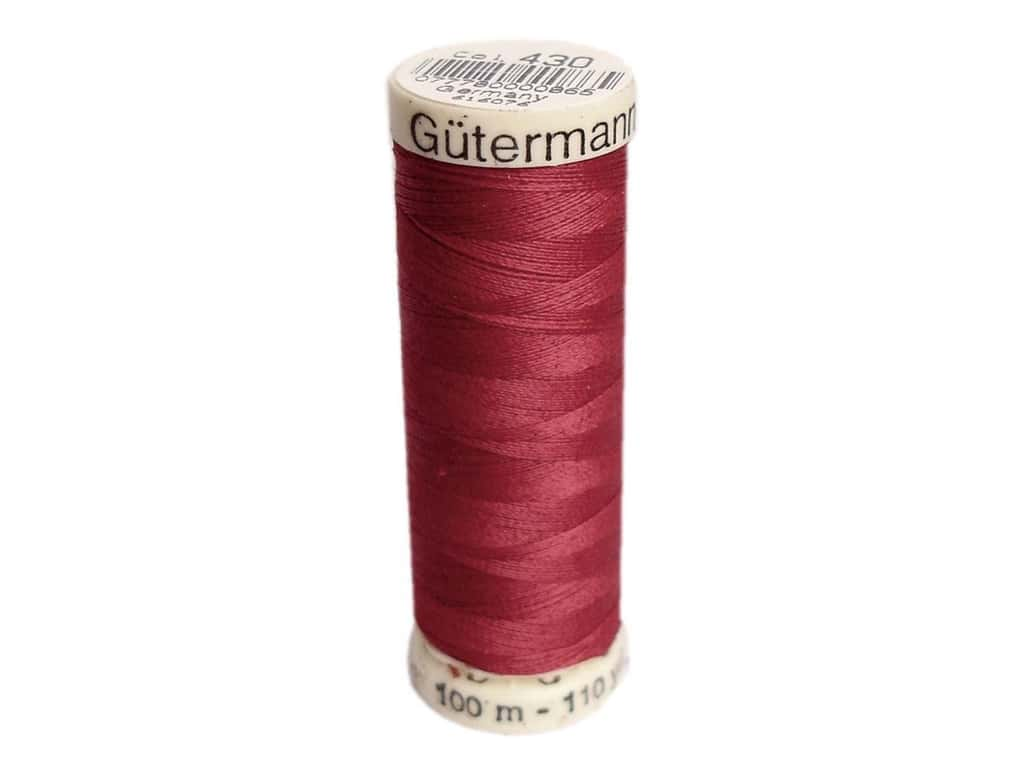 Gutermann Sew-All Thread 110 yd. #430 Ruby Red