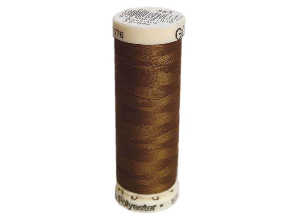 Gutermann Sew-All Thread 110 yd. #553 Mink Brown
