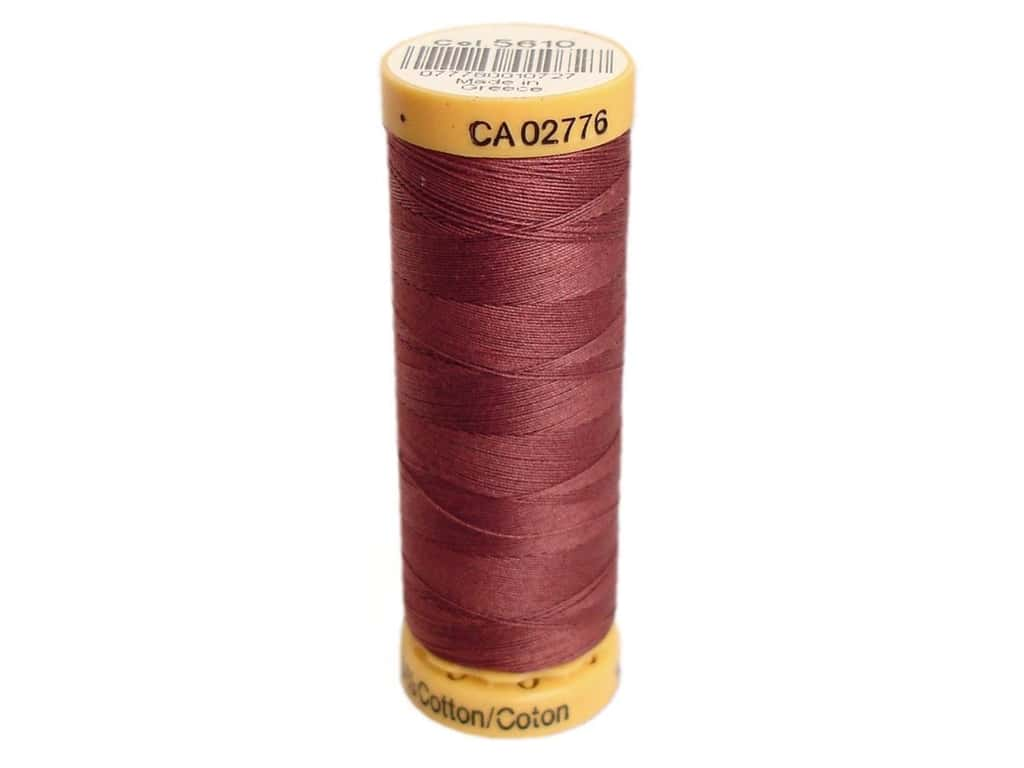 Gutermann 100% Natural Cotton Sewing Thread 109 yd. #5610 Dark Rose