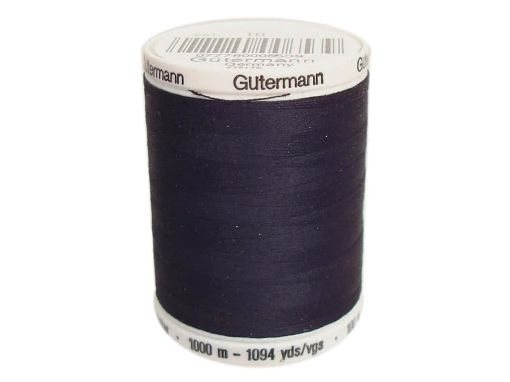 Gutermann Sew-All Thread 1094 yd. #010 Black