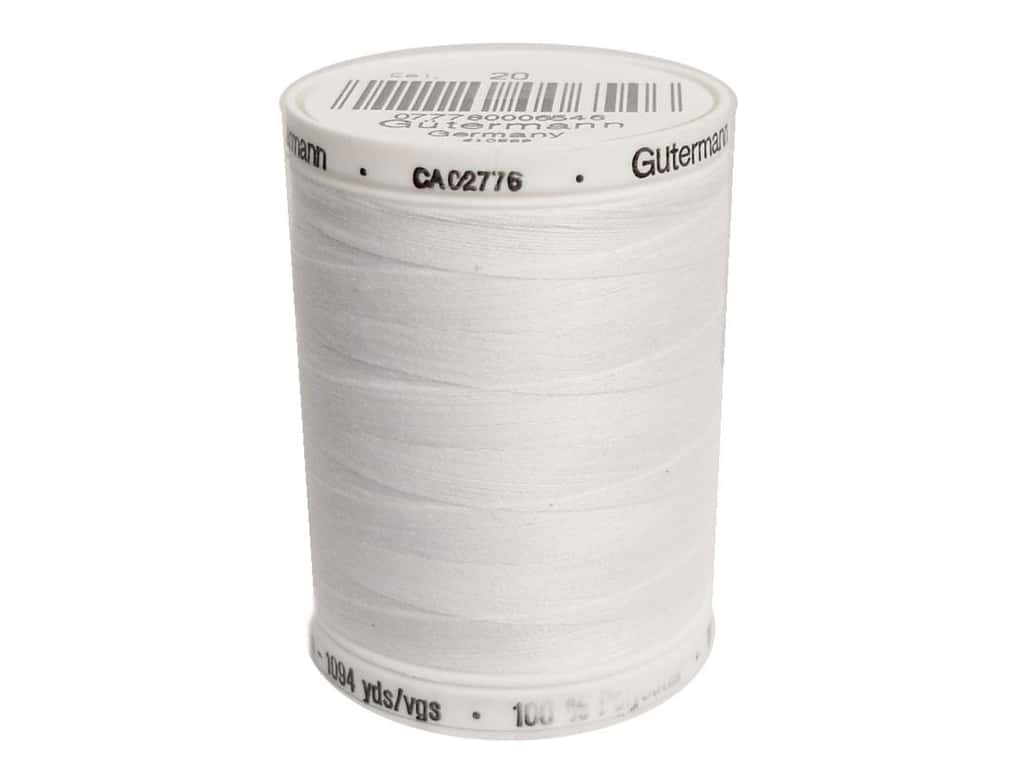 Gutermann Sew-All Thread 1094 yd. #020 White