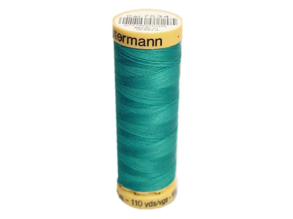 Gutermann 100% Natural Cotton Sewing Thread 109 yd. #7534 Teal Blue