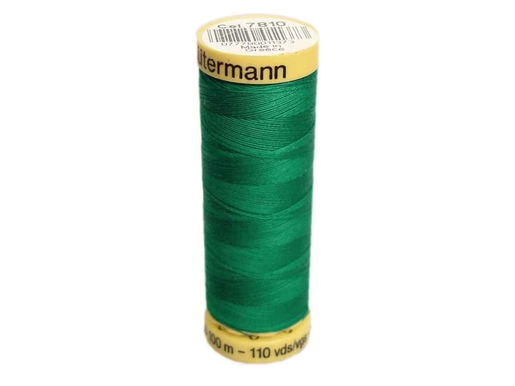 Gutermann 100% Natural Cotton Sewing Thread 109 yd. #7810 Jewel Green