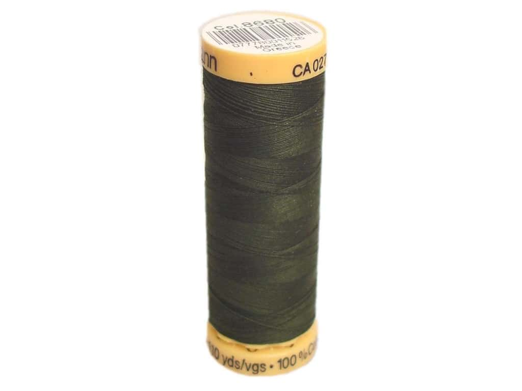 Gutermann 100% Natural Cotton Sewing Thread 109 yd. #8680 Black Olive