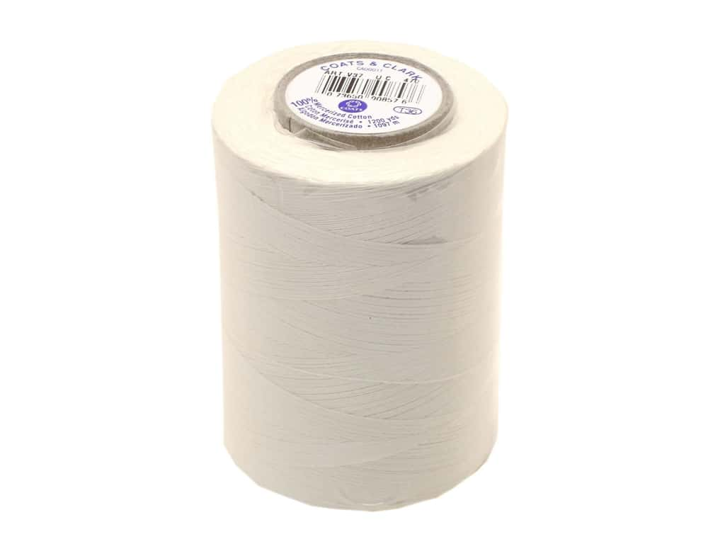 Coats Cotton Machine Quilting Thread 1200 yd. #470 Winter White