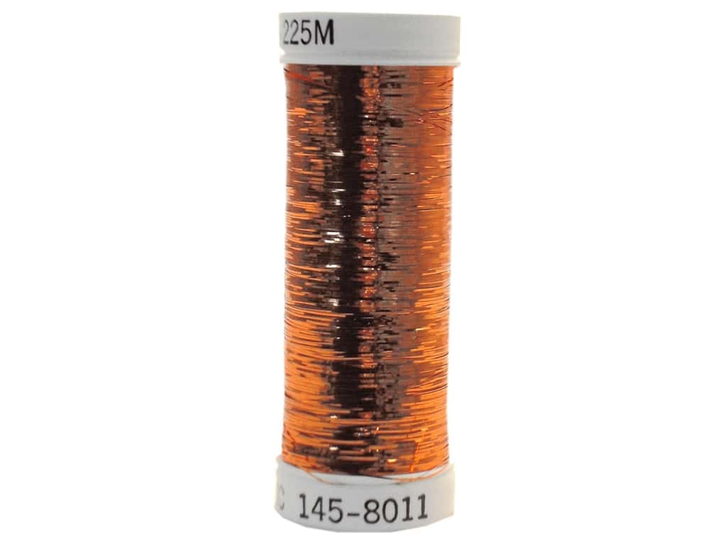 Sulky Silver Metallic Thread 250 yd. #8011 Light Copper