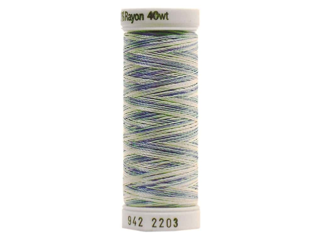 Sulky Rayon Thread 40 wt. 250 yd. #2203 Baby Pink/Mint/Blue