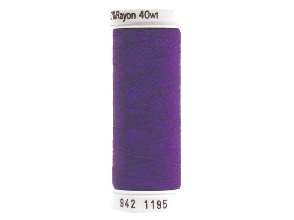 Sulky Rayon Thread 40 wt. 250 yd. #1195 Dark Purple