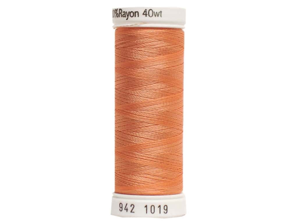 Sulky Rayon Thread 40 wt. 250 yd. #1019 Peach