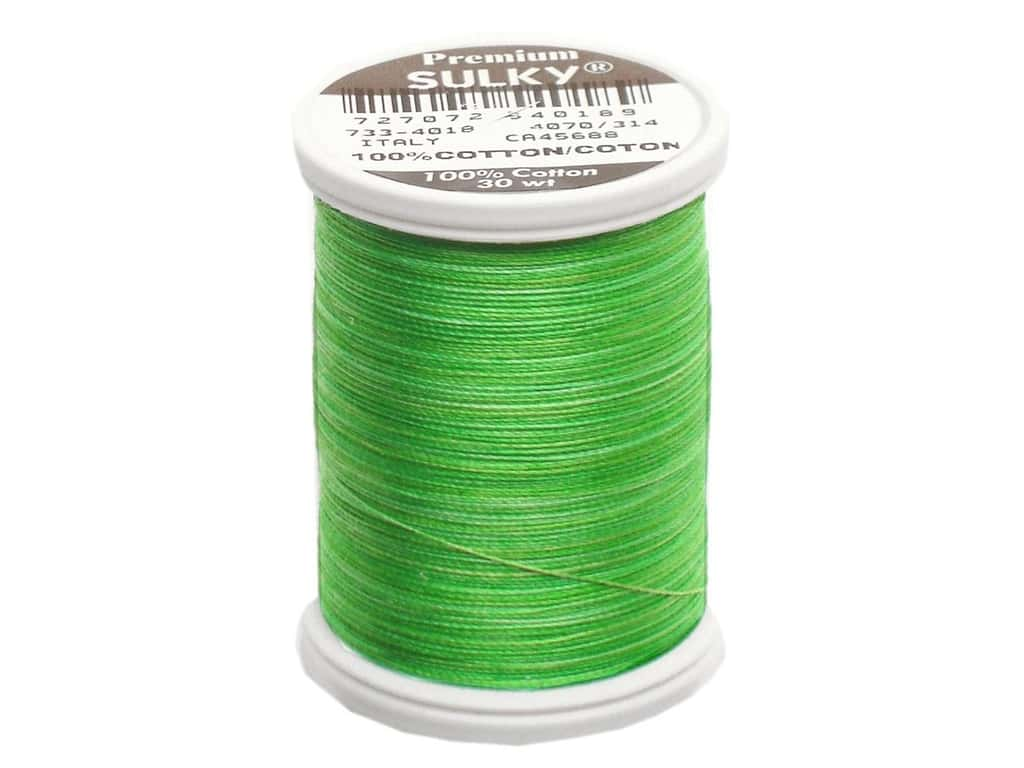Sulky Blendables Cotton Thread 30 wt. 500 yd. #4018 Summer Grass
