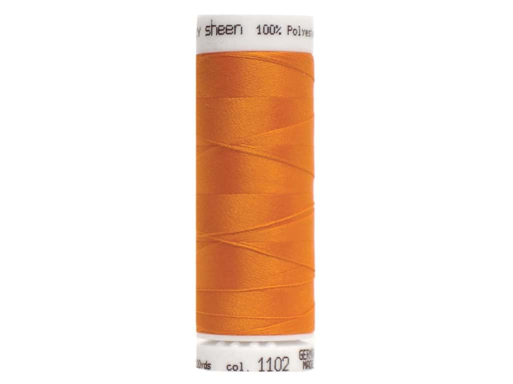 Mettler PolySheen Embroidery Thread 220 yd. #1102 Pumpkin