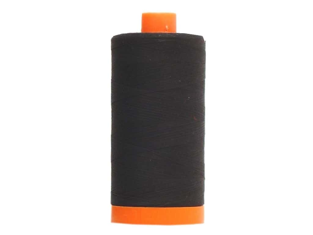 Aurifil Mako Cotton Quilting Thread 50 wt. #2692 Black 1420 yd.