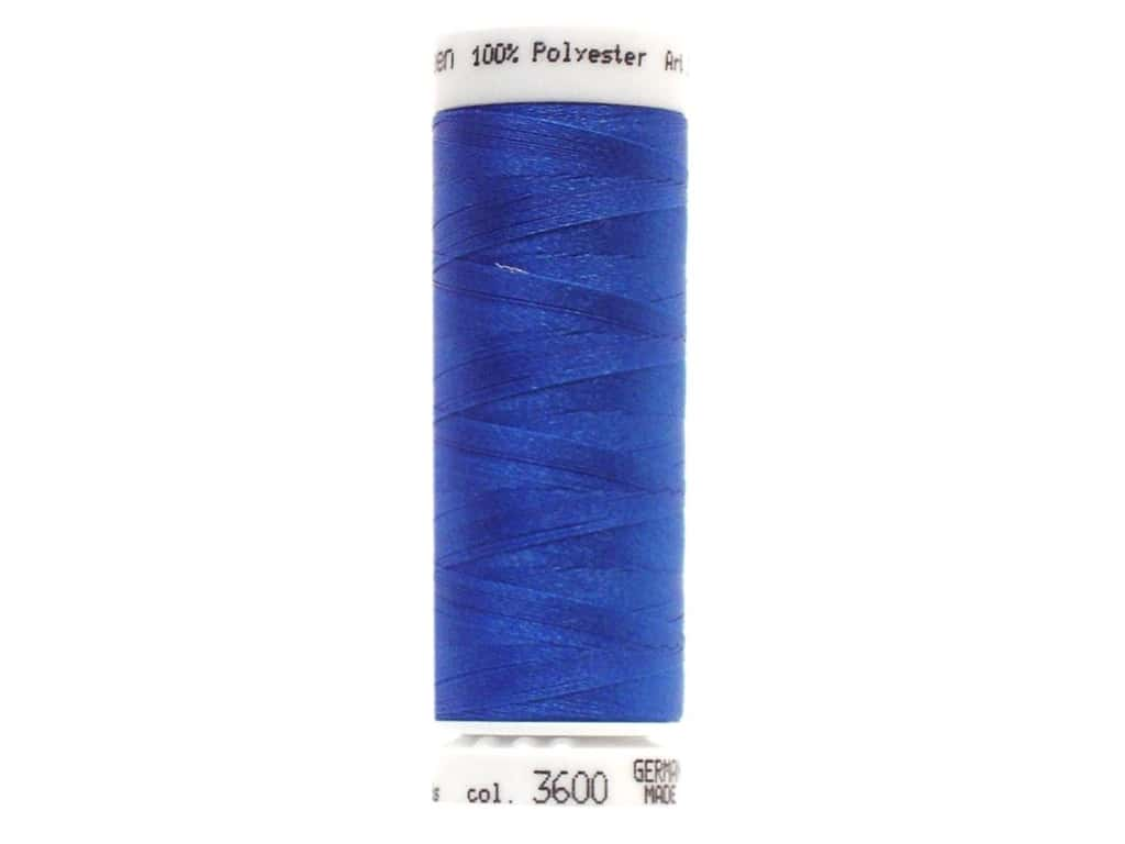 Mettler PolySheen Embroidery Thread 220 yd. #3600 Nordic Blue