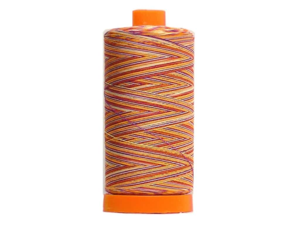 Aurifil Mako Cotton Quilting Thread 50 wt. #4648 Variegated Fiesta 1420 yd.