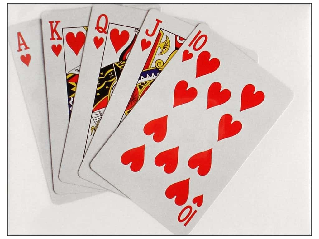 Paper House Diecut Blank Card Playing Cards