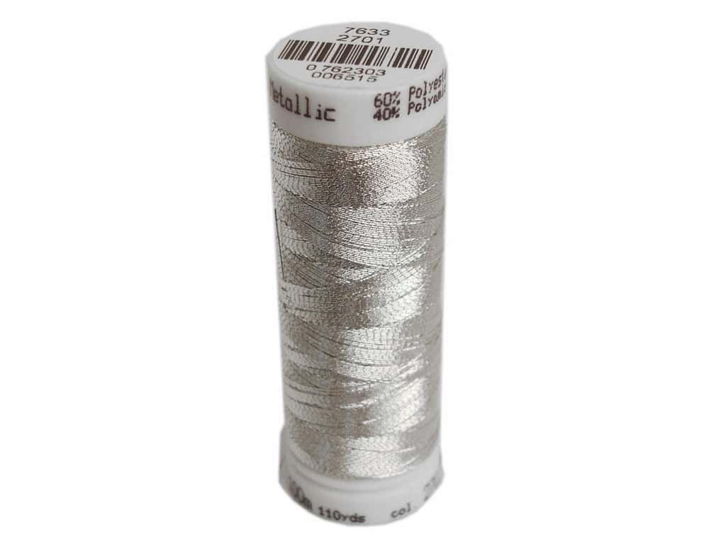 Mettler Metallic Thread 40 wt. 110 yd. #2701 Silver
