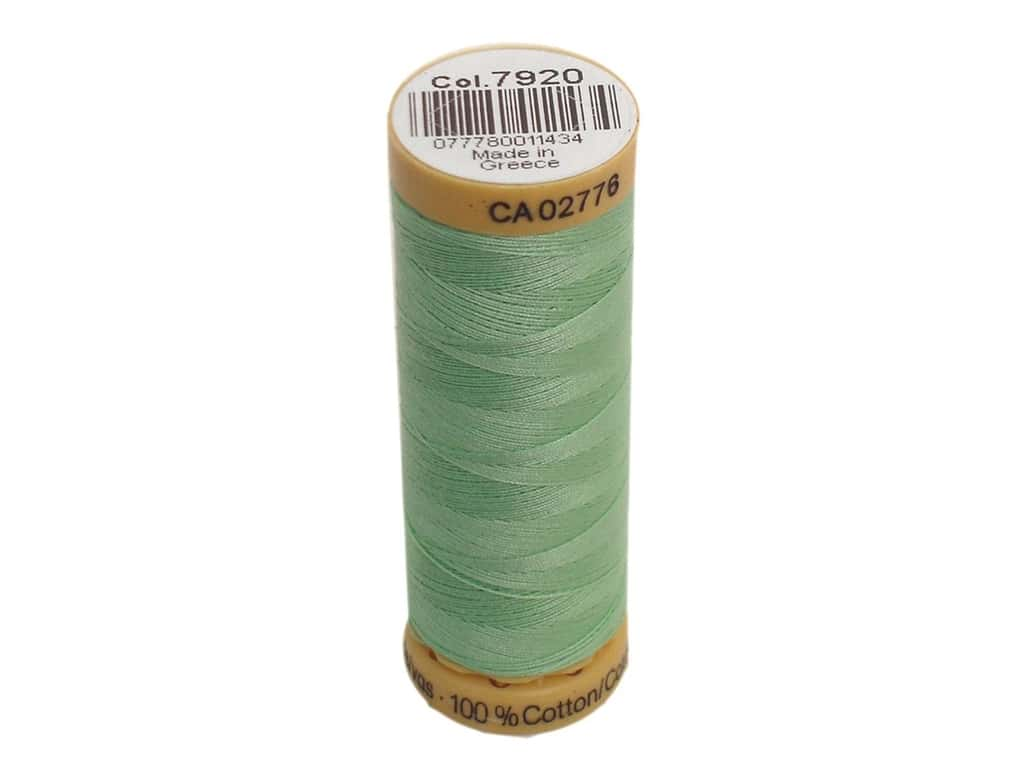 Gutermann 100% Natural Cotton Sewing Thread 109 yd. #7920 Light Jade