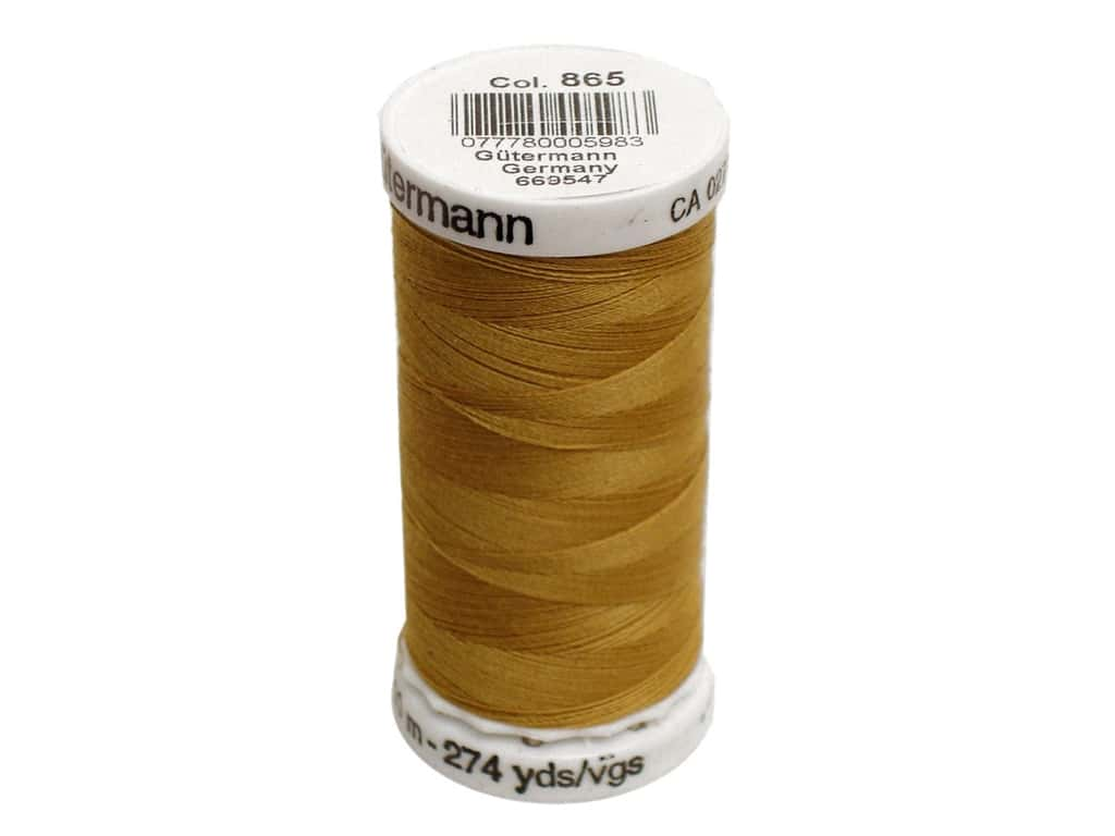 Gutermann Sew-All Thread 273 yd. #865 Saffron