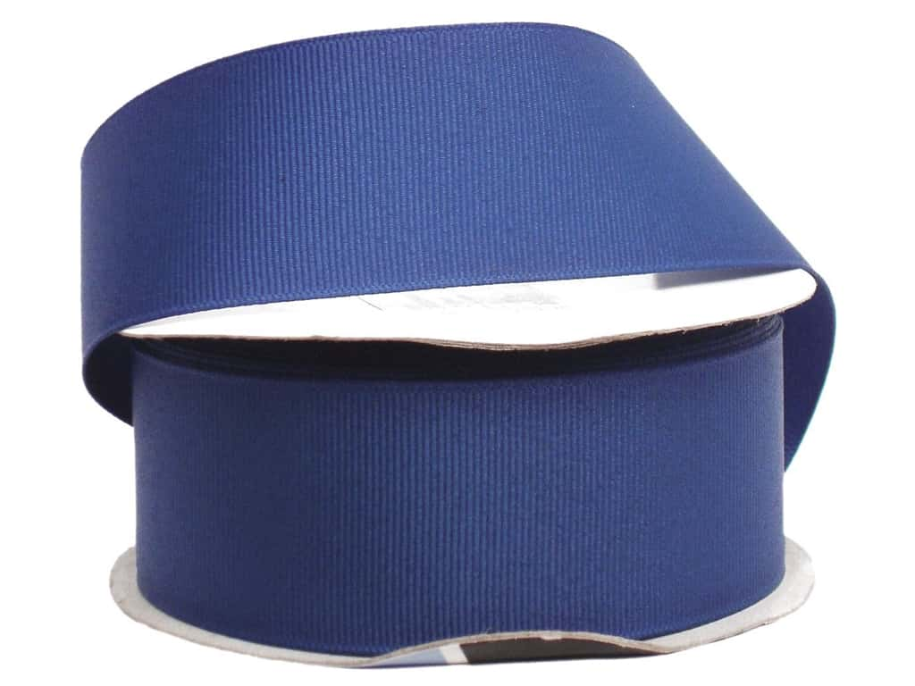 Offray Grosgrain Ribbon 1 1/2 in. x 10 yd. Century Blue (10 yards)
