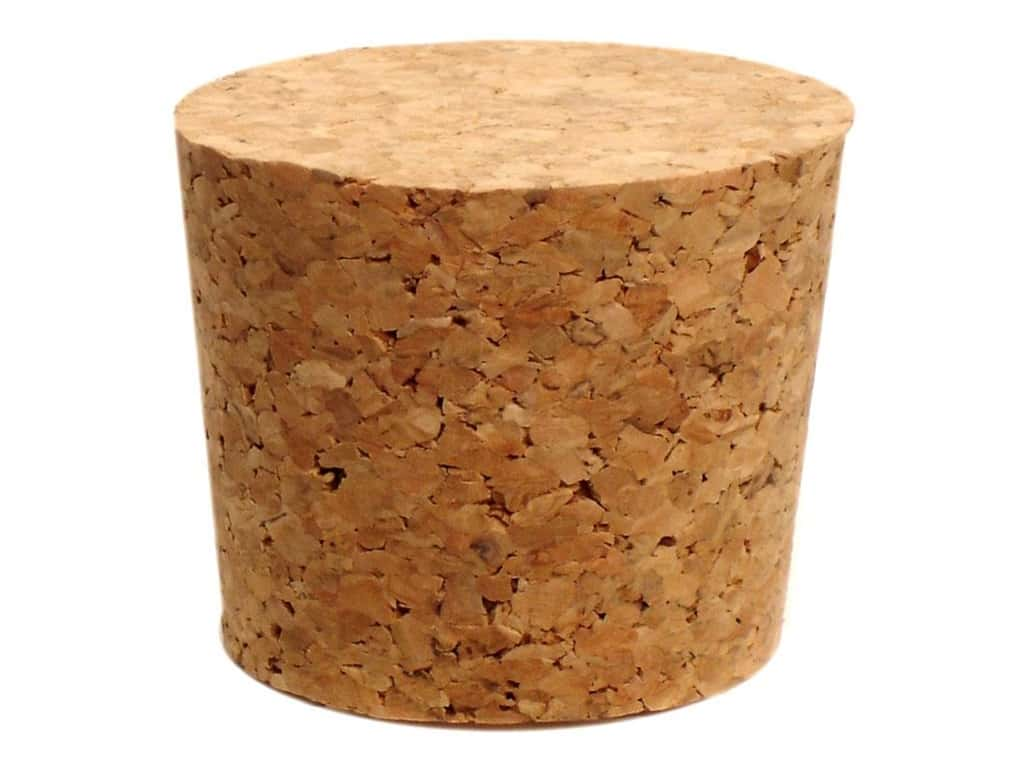 Hearts & Crafts Craf-T-Corks Cork Stopper 1 3/4 x 1 1/2 in. 1 pc.