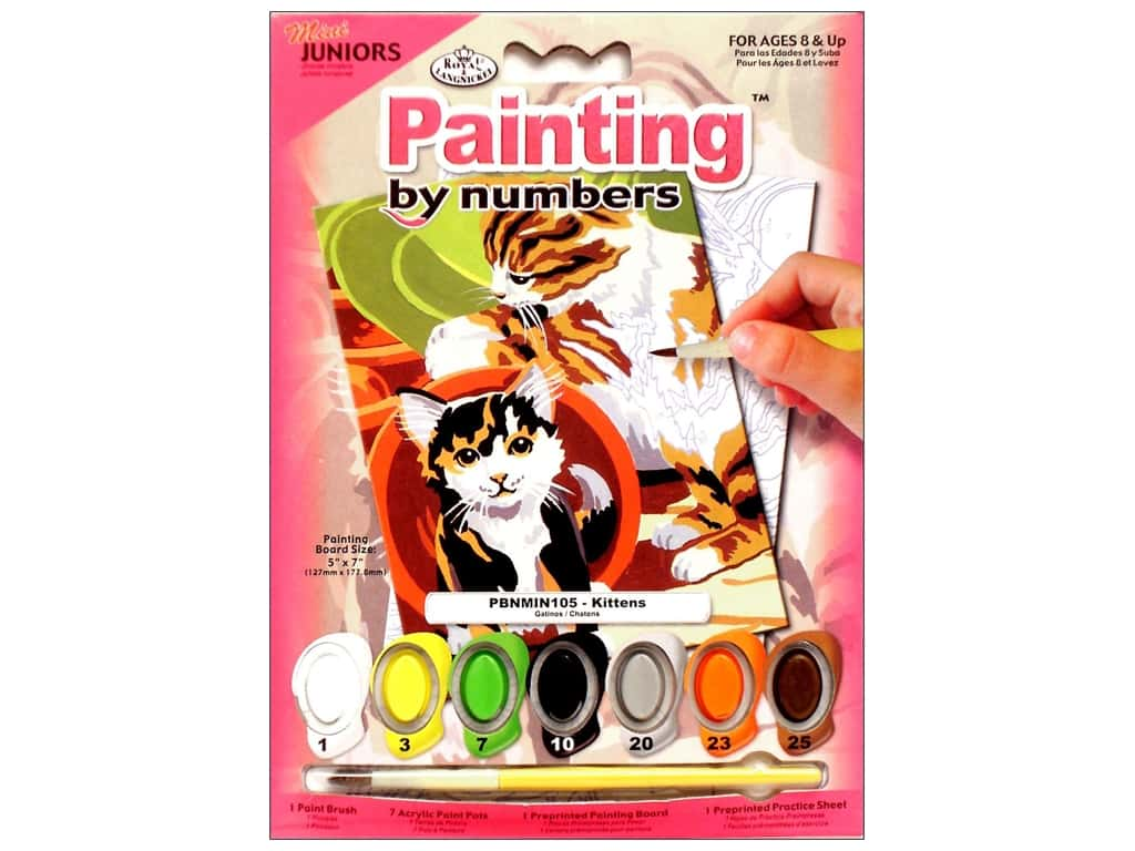 Royal Paint By Number Kit Mini Kittens