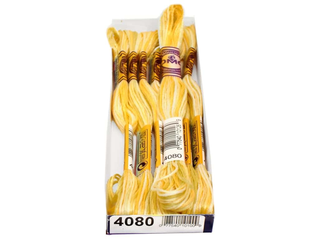 DMC Color Variations Floss 8.7 yd. #4080 Daffodil Fields (6 skeins)