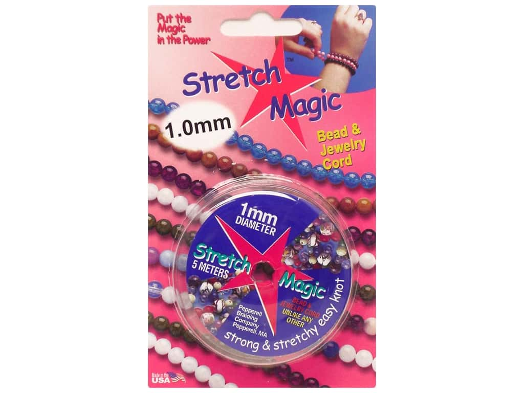 Stretch Magic Beading Cord 1mm x 16.4 ft. Clear