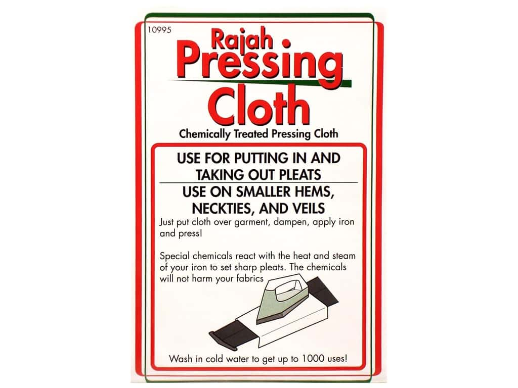 Sullivans Rajah Pressing Cloth White