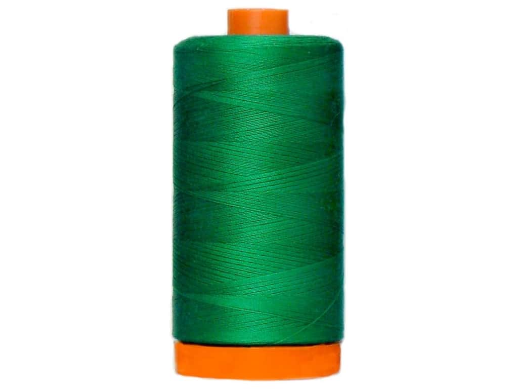 Aurifil Mako Cotton Quilting Thread 50 wt. #2870 Green 1420 yd.