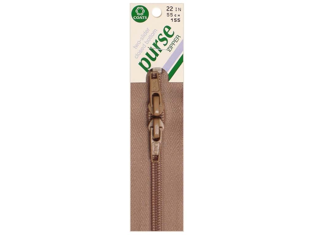 Coats Purse Zipper 22 in. Dogwood