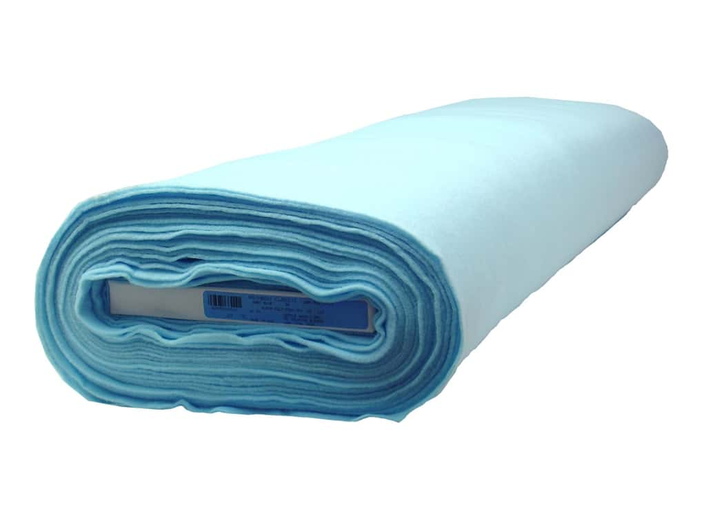 Kunin Rainbow Classic Felt 36 in. x 20 yd. Baby Blue (20 yards)