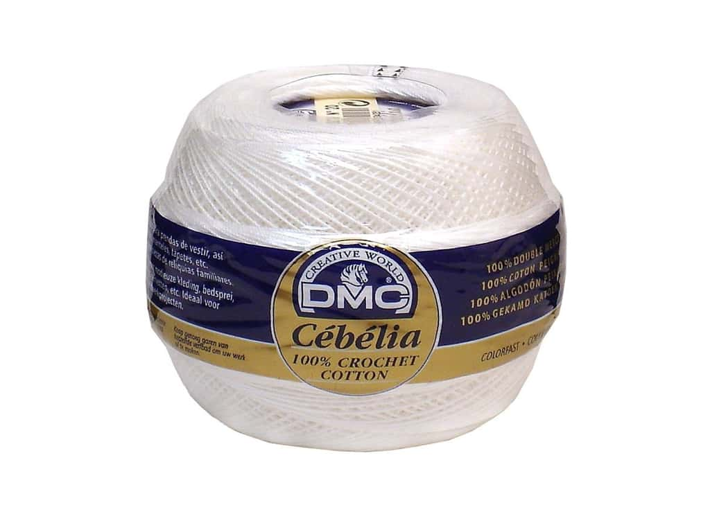 DMC Cebelia Crochet Cotton Size 20 White