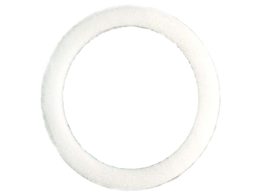 FloraCraft Styrofoam Wreath Flat Ring 12 x 1 1/4 x 3/4 in. 1 pc.