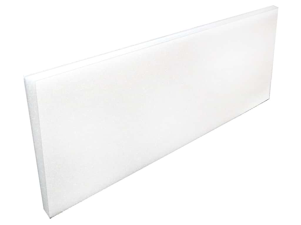FloraCraft Styrofoam Sheet - 1 x 12 x 36 in. White (20 pieces)