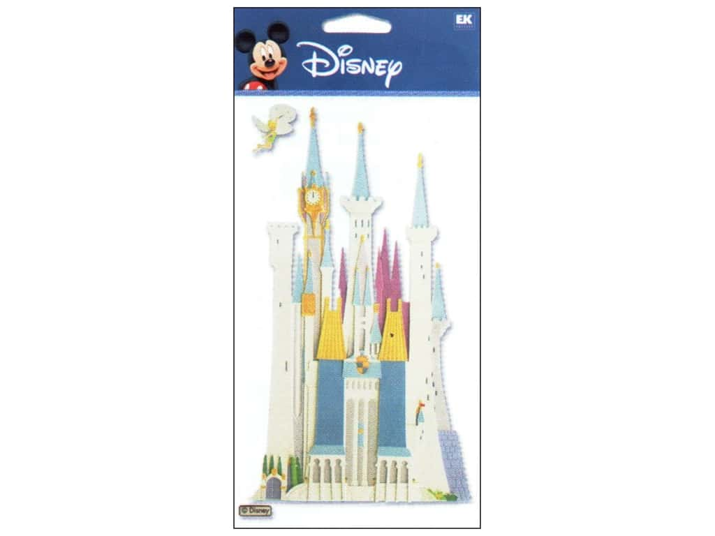 EK Disney Dimensional Stickers Disney Castle