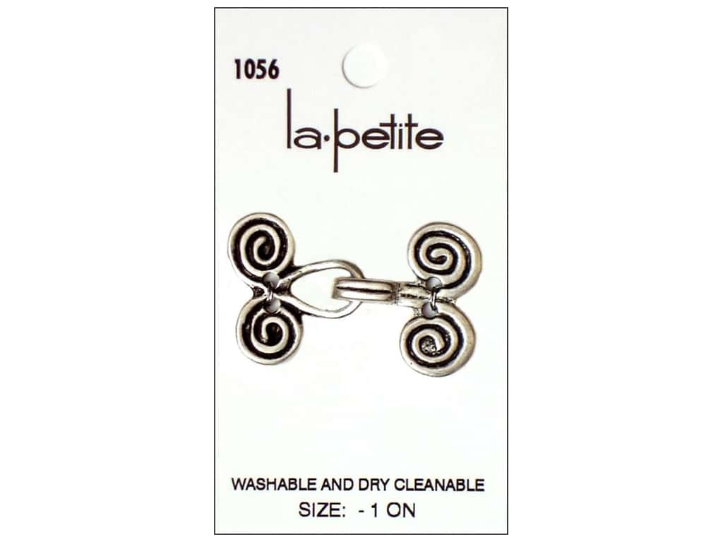 LaPetite Closure 1 1/2 in. Antique Silver #1056 1pc.