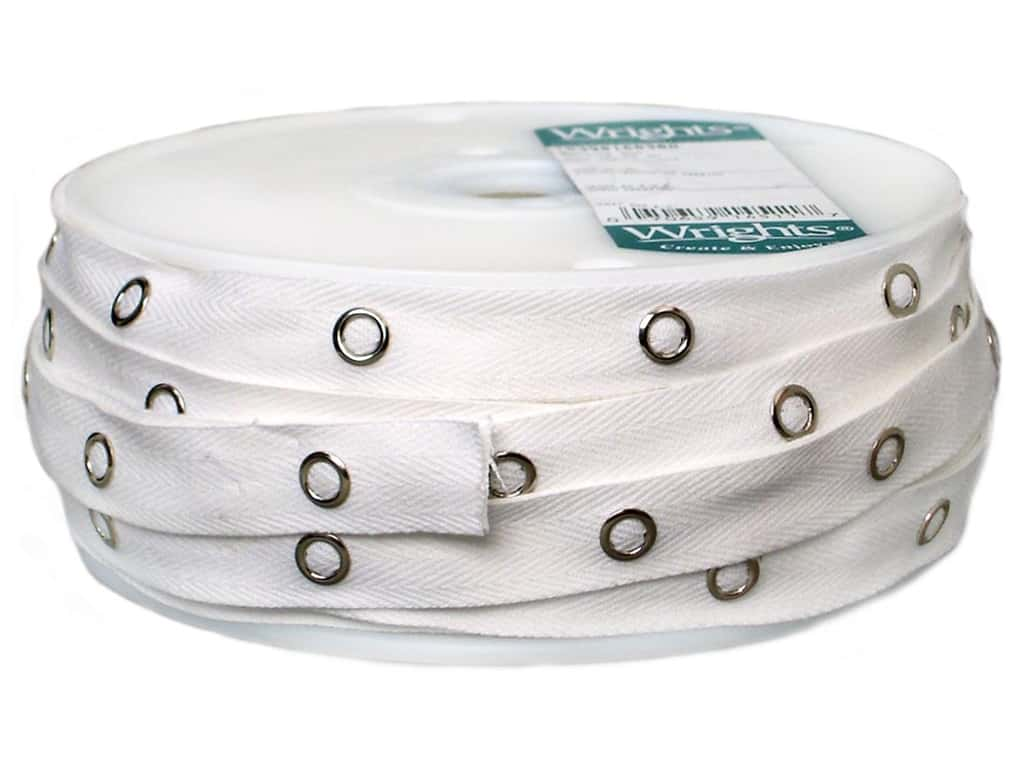 Wrights Snap Tape 5/8 in. White (36 yards)