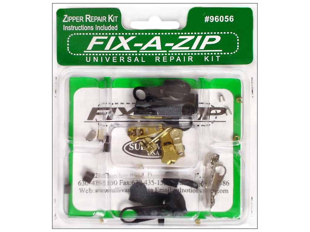 Sullivans Zipper Repair Kit Universal