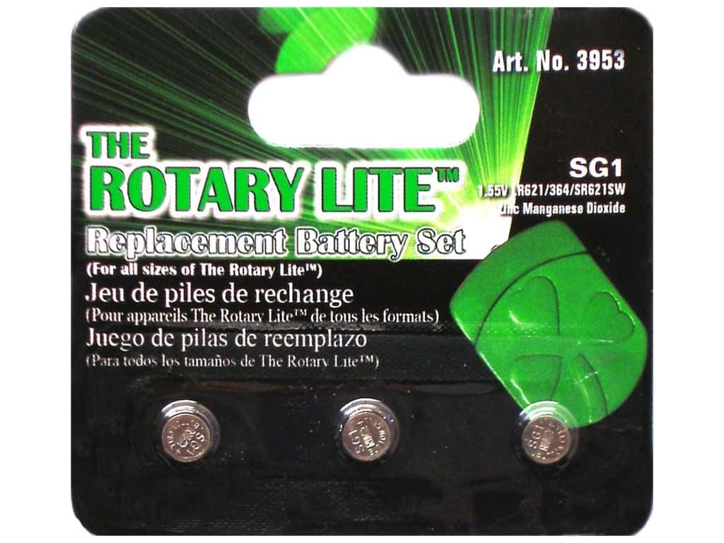 Clover Rotary Lite Replacement Battery 3 pc.