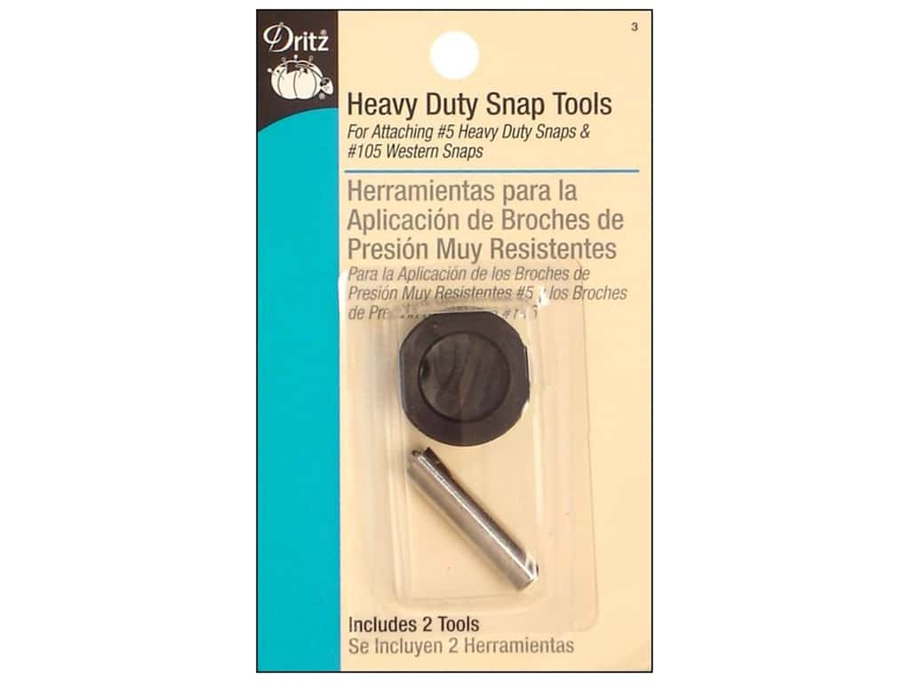 Dritz Heavy Duty Snap Tools 2 pc.
