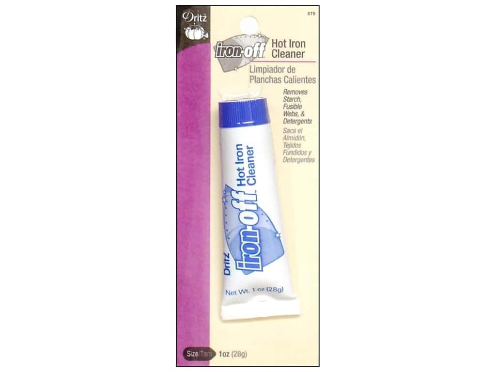 Iron-Off Hot Iron Cleaner by Dritz 1oz