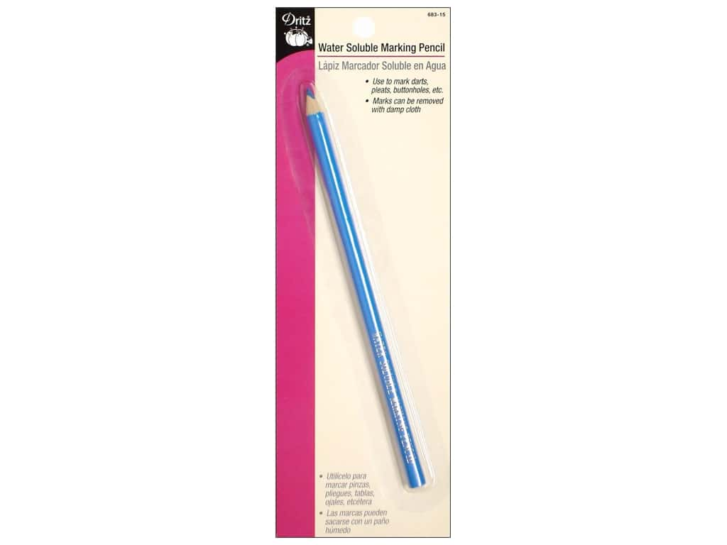 Dritz Water Soluble Marking Pencil - Blue