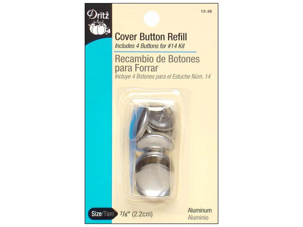 Cover Button Refill by Dritz 7/8 in. 4 pc.