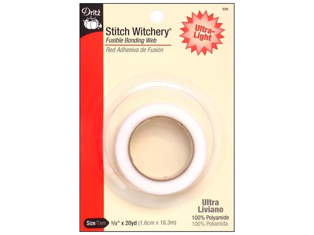 Dritz Stitch Witchery Ultra-light 5/8 in. x 20 yd.